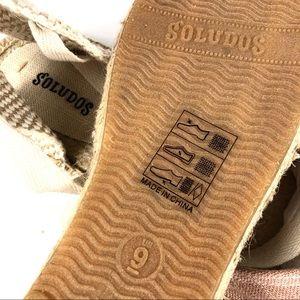 Soludos Shoes - Soludos NWOT Pink Canvas Ballet Espadrilles Size 9